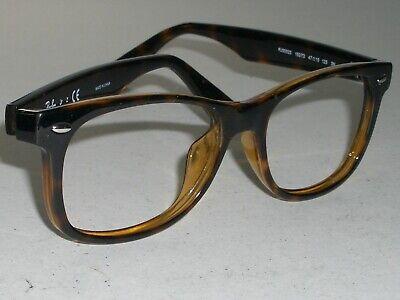 Kleine Größe Ray-Ban Rj 9052S 47 15 125 Sleek Glänzend Schildplatt Brille Rahmen