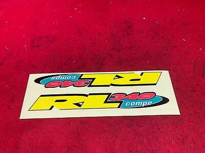 NOS VINTAGE REDLINE LOGO STICKER PAGE  BMX STICKER DECAL