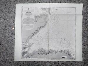 Nautical Chart No. 115 Peterhead to Pentland Firth including Moray Firth (1976)
