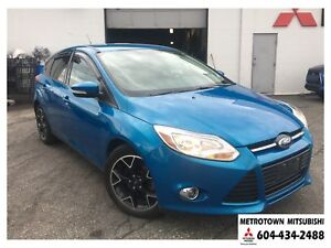 2012 Ford Focus SE; Local BC vehicle! LOW KMS!