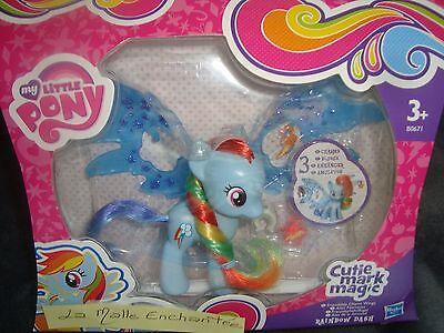 Mon Petit Pony Hasbro Rainbow Dash Cutie Mark Magic Flügel Feeriques + 3 Access