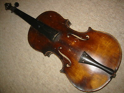 Old violin with a   1part back 1 Violin Part