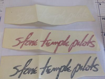 Stone Temple Pilots Vinyl Cut Out Sticker Available In Black Red Or White
