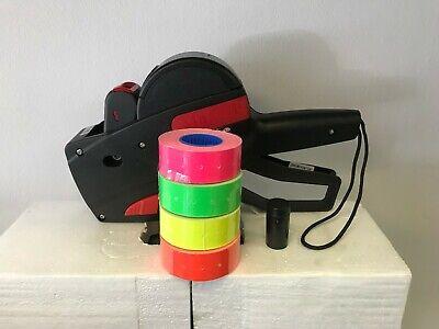 New Price Marking Gun 4000 Color Labels 1 Ink Rollerstickertagmonarchtowa