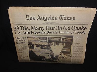Los Angeles Times   Tuesday  January 18  1994