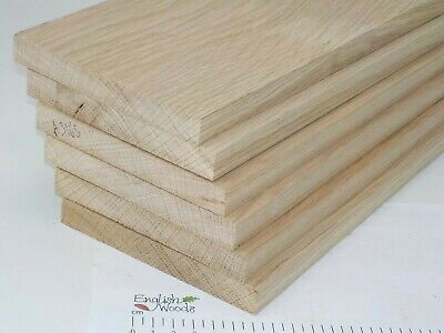 6 English Oak wood boards. 127 x 16 x 850mm. Shelf, plank, craft. 3165A for sale  Shipping to United States