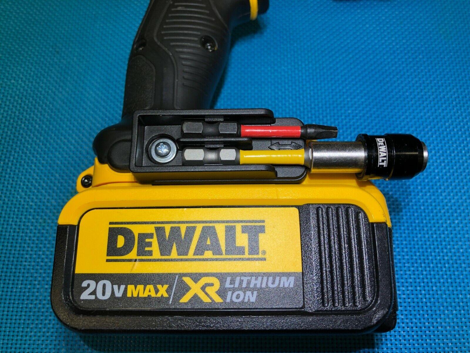 BIT HOLDER FOR DeWALT 12V OR 20V MAX DCD & DCF DRILL OR IMPACT