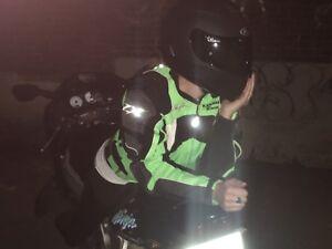 Manteau moto Kawasaki Ninja medium