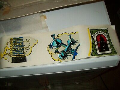 Bally Addams Family Pinball Machine NEW NOS Topper Decals + Ramp Decals