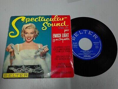 ENOCH LIGHT MARILYN MONROE SPECTACULAR SOUND 1 BELTER 50468 Pres Spain EP Enoch Light