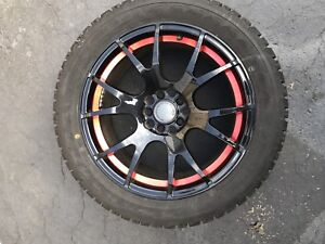 New winter tires and rims (only used 1 season)