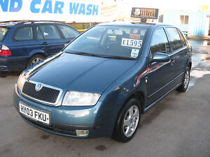 2003 (03) SKODA FABIA 1.4 ELEGANCE 16V, MANUAL, PX WELCOME, REDUCED
