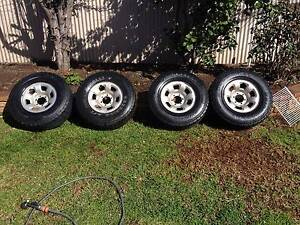 Nissan Patrol factory steel rims X4 Seaford Morphett Vale Area Preview