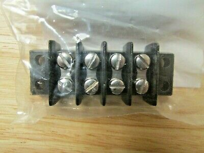 Cinch 4141 Terminal Blocks 4 Pole New Nos 4-141 Waldom Electronics Lot Of 5