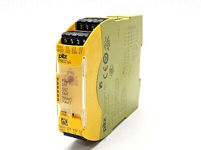Pilz Pnoz S4 24vdc 3no 1nc Safety Relay 750104