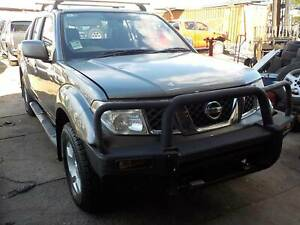 WRECKING 2010 NISSAN NAVARA 4X4 2.5L DIESEL MANUAL MNT VIN North St Marys Penrith Area Preview