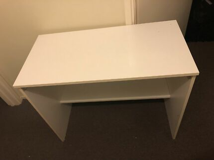 White study desk