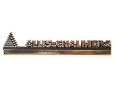Allis Chalmers Chrome Emblem 7020 7045 7060 7080 7580 8550 8010 8030 8050 8070