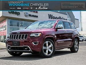 2016 Jeep Grand Cherokee Overland/Executive Driven