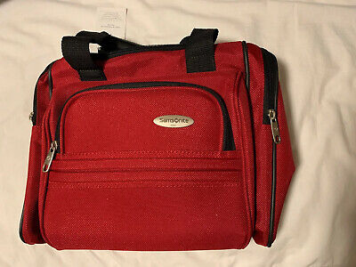 Samsonite Travel Tote Bag ~ Straps ~ Red ~ New With Tags ~ Carry On Bag