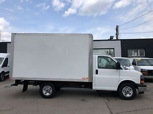 2018 Gmc Savana G3500 12'CUBE SRW FON.OR LEASE FROM4.99%OAC