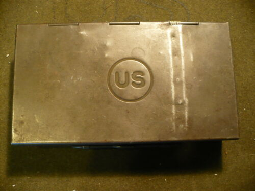 WWI&2 US Army Model 1912-1911 Pistol Cleaning Box