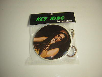 ALICE COOPER KEY RING KEY CHAIN 1973 SEALED ANABAS VINTAGE SUPER RARE
