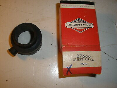 Briggs Stratton Gas Engine Air Cleaner Gasket 27666 New Old Stock Vintage
