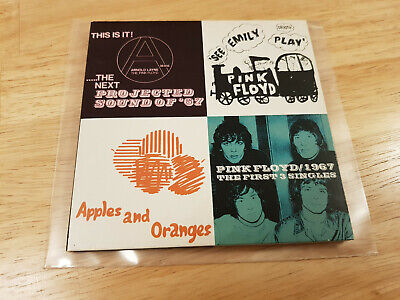 Pink Floyd ★ 1967 / The First 3 Singles  ★ UK 6 Track CD ★ David (Pink Floyd 1967 The First 3 Singles)