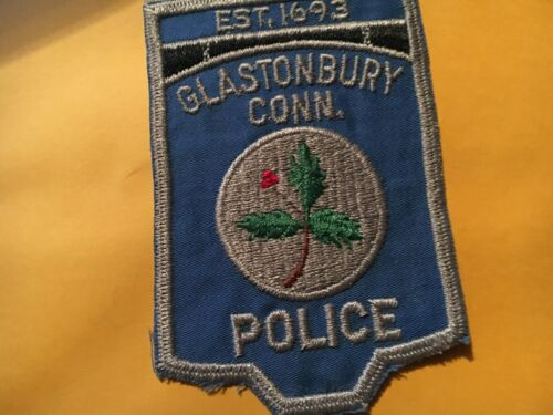 GLASTONBURY CONNECTICUT Police patch CC VERSION 2
