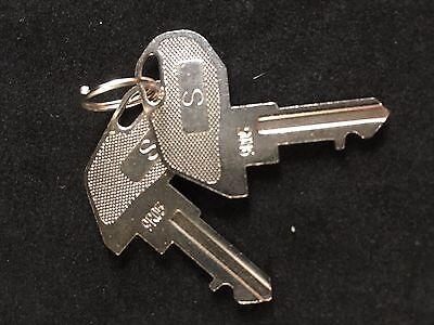 Tec Cash Register S Key 9r05 Set Of 2