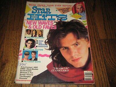Star Hit Magazine Jun 1986 Duran Duran Wham Pet Shop Boys A-Ha Dead or Alive