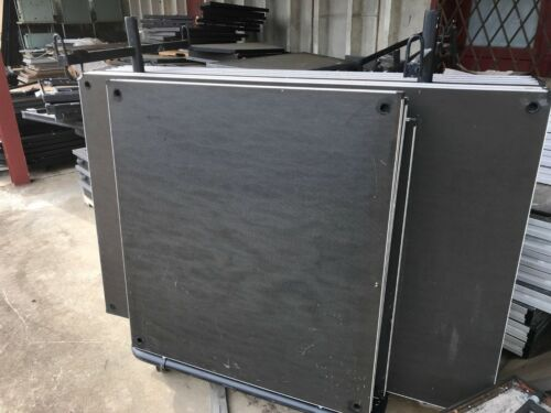 StageRight Portable Stage Decking (no legs) all 12 sections = $1800. CAN SHIP.
