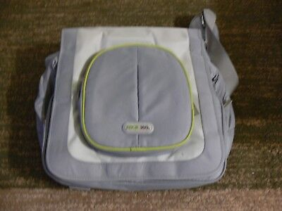 Xbox 360 Gray Grey Green Messenger Bag Padded Travel Carry Case for sale  Shipping to India