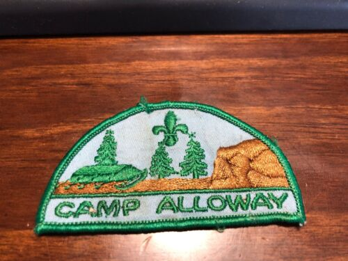 Canadian Camp Alloway Boy Scout Camp Patch