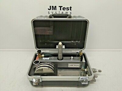 Ametek Pkm-304wc-ss Pk Tester Pneumatic Dead Weight Tester 308 In H20 Br