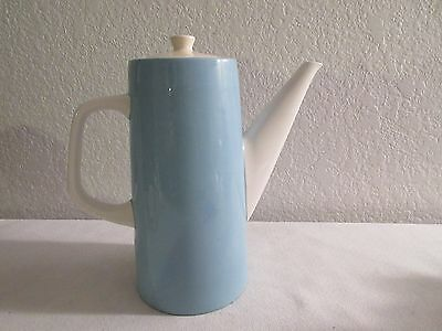 Vintage Retro Aqua Teapot/Coffee Pot