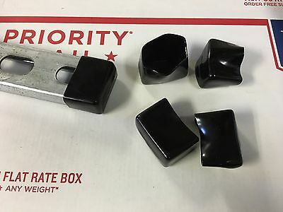 4882bk P2860-33 Plastic Black End Caps For Unistrut 1316 X 1 58 10box