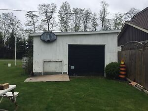 18' by 20' garage for sale