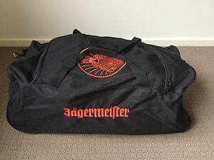 Jagermeister Branded Gear Bag Sunbury Hume Area Preview