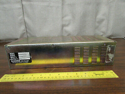 Glassman Psmj30p0400-11 30kv 400ua 115v Mj Laser Power Supply As-is
