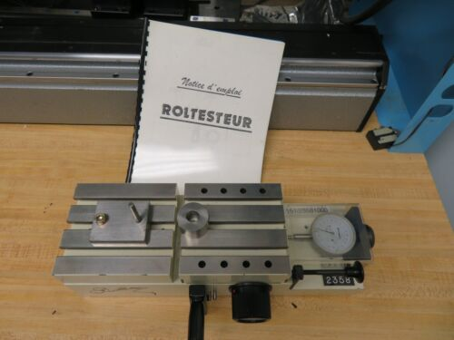Rollet Roltesteur Universal  Measuring machine, Roll Tester Machine - 200mm