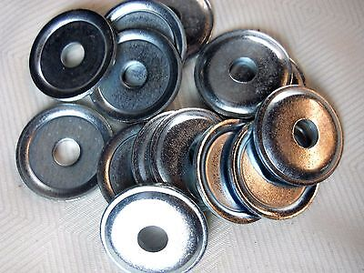 M10 10mm X 39mm Os X 3mm Thick Cup Washer Lot Of 15 Washers