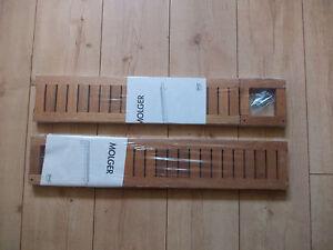 IKEA MOLGER Regal  OVP NEU  Badregal Wandregal  Walnuss Holz