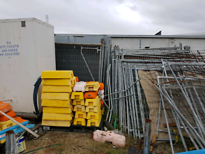 Temporary fencing. Golf cart telehandler nissan atlas tipper/tray Perth Perth City Area Preview