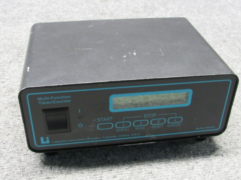 Lafayette Instrument 54035A Multi-Function Timer/Controller DC-Power *Tested*
