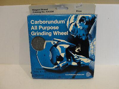 Niagara Brand All Purpose Grinding Wheel Medium Grit Ha32m
