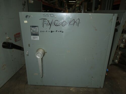 Westinghouse Fdp Unit Fdps368 1200a 3p 600v Fusible Panelboard Switch Used
