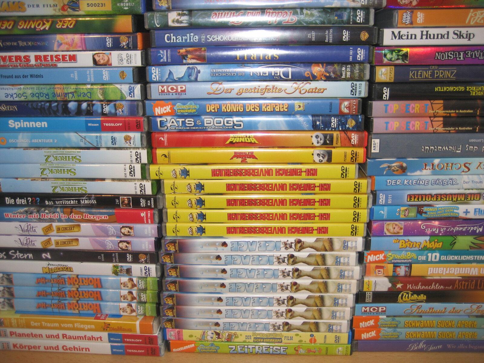 (X6) 1 DVD Kinderfilm siehe Auswahl Disney, Barbie, Biene Maja usw.