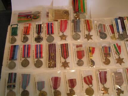 ww1,ww2 military war medals GENUINE. SPECIAL. Orelia Kwinana Area Preview